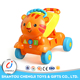 Funny plastic musical baby walker multifunction