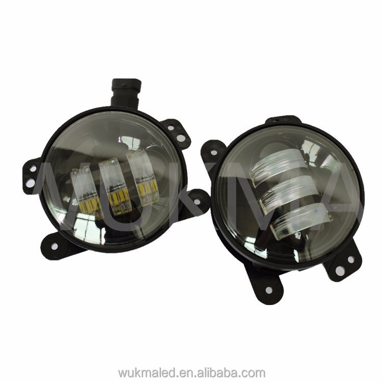 Car Accessories for Jeep Wrangler Dodge led foglight, 4 inch 30w a pair led fog light
