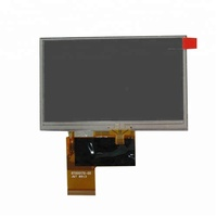 AT043TN24V.7 a-Si TFT LCD module 4.3 inch high resolution 480*272 Innolux touch screen