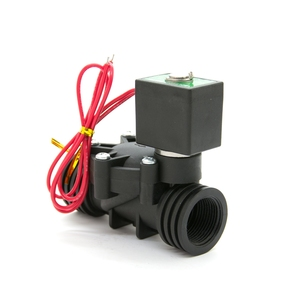 Low Price Plastic Flow Control Electric Water Solenoid Valve