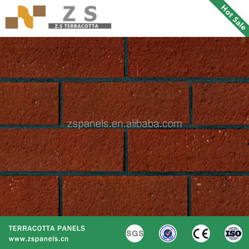 Brick Shape Ceramic Tile Anese Restaurant Facade Red Wall