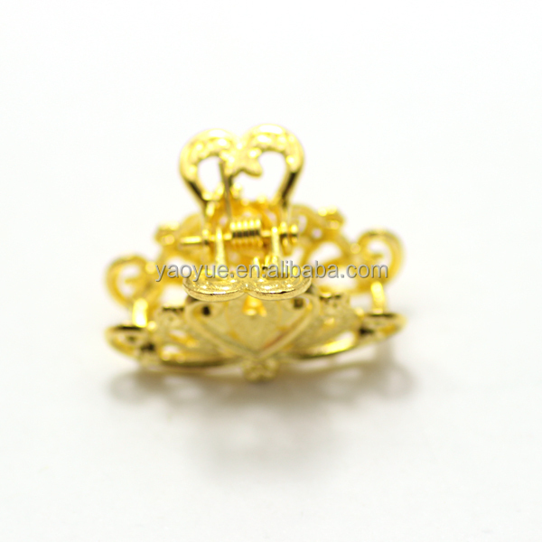 Stylee Hair Accessories Unique 18K Gold Decorative Stylee Hair Accessories Women Lacing Clamp .