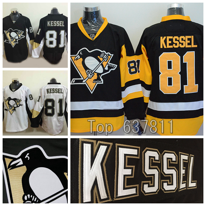 ... aliexpress 2015 pittsburgh penguins phil kessel jerseys authentic home black  white alternate cheap 81 stitched hockey ... 1e6f9129b