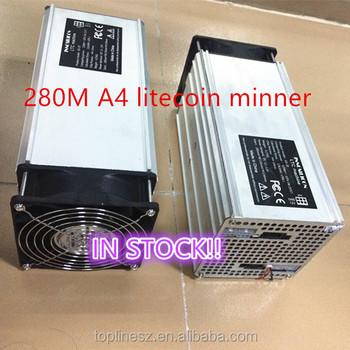 2016 Newest A4 Scrypt Miner Litecoin Miner 280m - 300 Mh/s Litecoin Scrypt  Asic Miner - Buy A4 Scrypt Miner,A4 Litecoin Miner,Asic Miner Product on