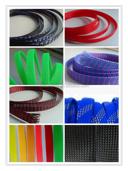 Ce. Rohs .ul Polyester.expandable Braided Wire Sleeve/fabric Wire ...