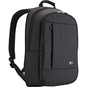 "Case Logic 15.6"" Laptop + Tablet Backpack - Notebook Carrying Backpack - 15.6"" - Black ""Product Type: Supplies & Accessories/Notebook Carrying Cases"""