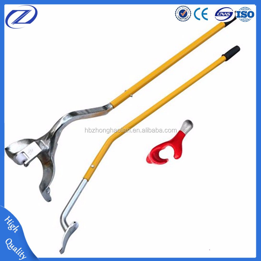 China supplier steel tire changer tools for tubeless truck