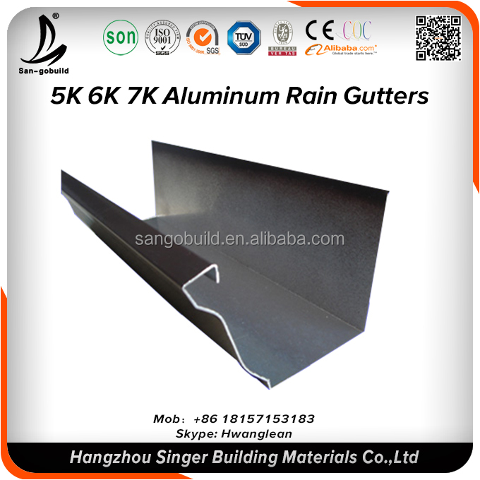 Cheap Roofing System Materials Price Steel Galvanized Galvalume Steel  Gutters,Stainless Steel Gutter Price Philippine - Buy Stainless Steel