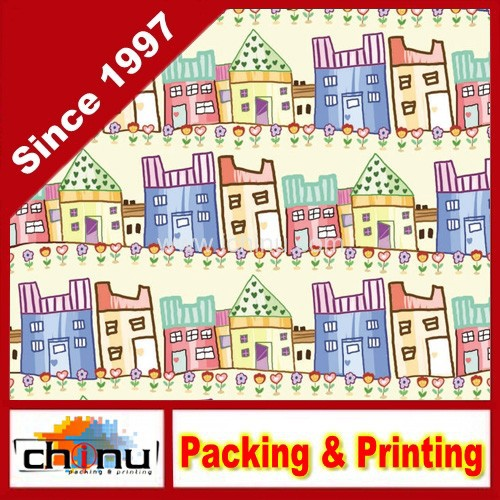 OEM Custom Printed Gift Wrapping Paper (510026)