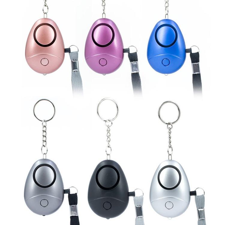 New Wholesale Self Defense Keychain Emergency 150db Sos Keychain