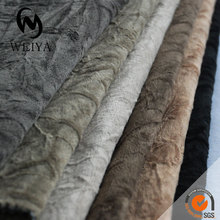 Woven polyester crushed velvet fabric cheap furniture from china