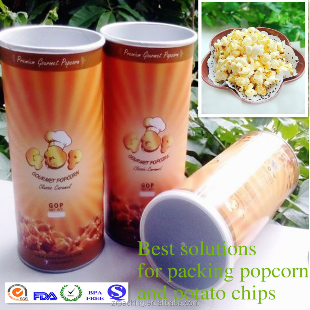 Paper Disposable chips chocolate packaging