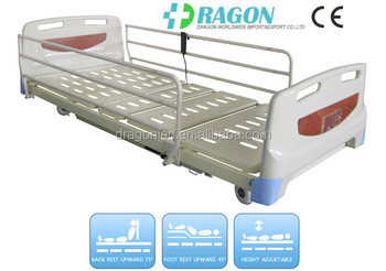 dw bd128 hospital beds canada adjustable firmness mattress electric bed with three functions hospital bed - Adjustable Firmness Mattress