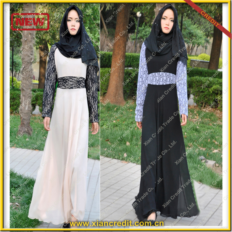 Fashion 2017 islamic clothing muslim dress new model abaya in dubai