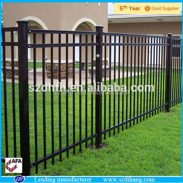 cheap decorative wrought iron fence designs post and rail. Black Bedroom Furniture Sets. Home Design Ideas