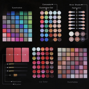 Wholesale Natural Eyeshadow Palette Glitter 177 Colors Eye Shadow color makeup set