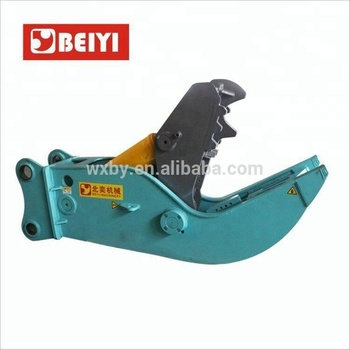 excavator hydraulic clamps concrete crusher