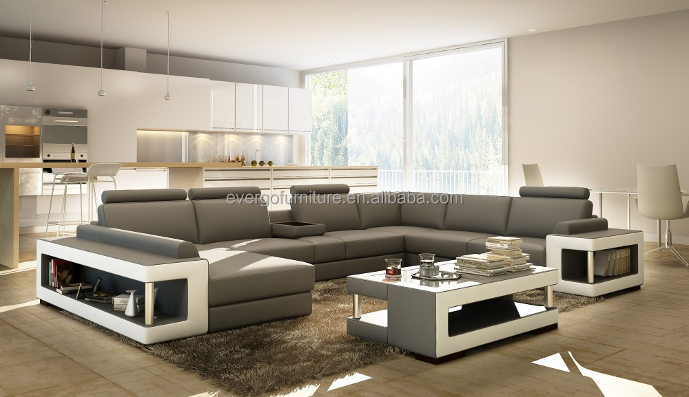Leather Sectional Sofa Suppliers And Manufacturers At Alibaba