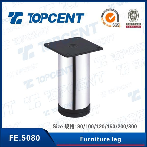 Cast iron table leg base for furniture dinning table
