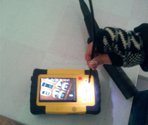 "Industrial wireless video borescope with 4mm inspection CCTV camera 5"" TFT screen two ways articulation tip"
