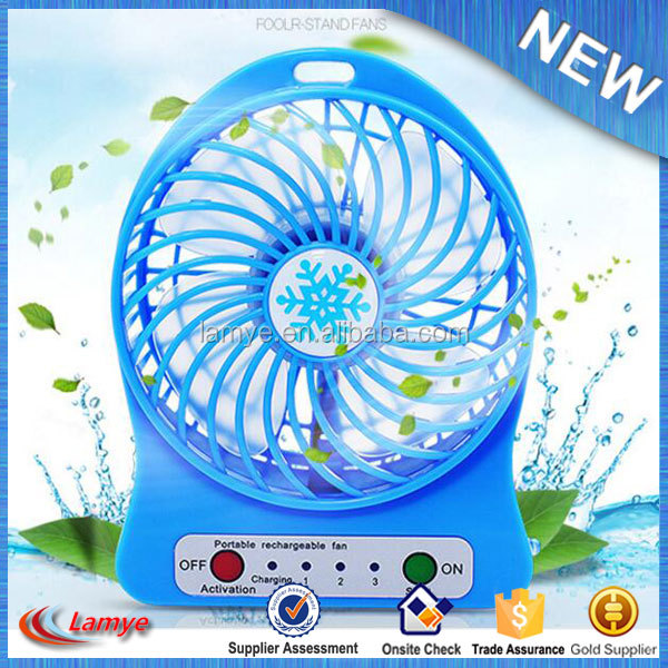 Best Home appliances portable handheld usb rechargeable battery table mini fan