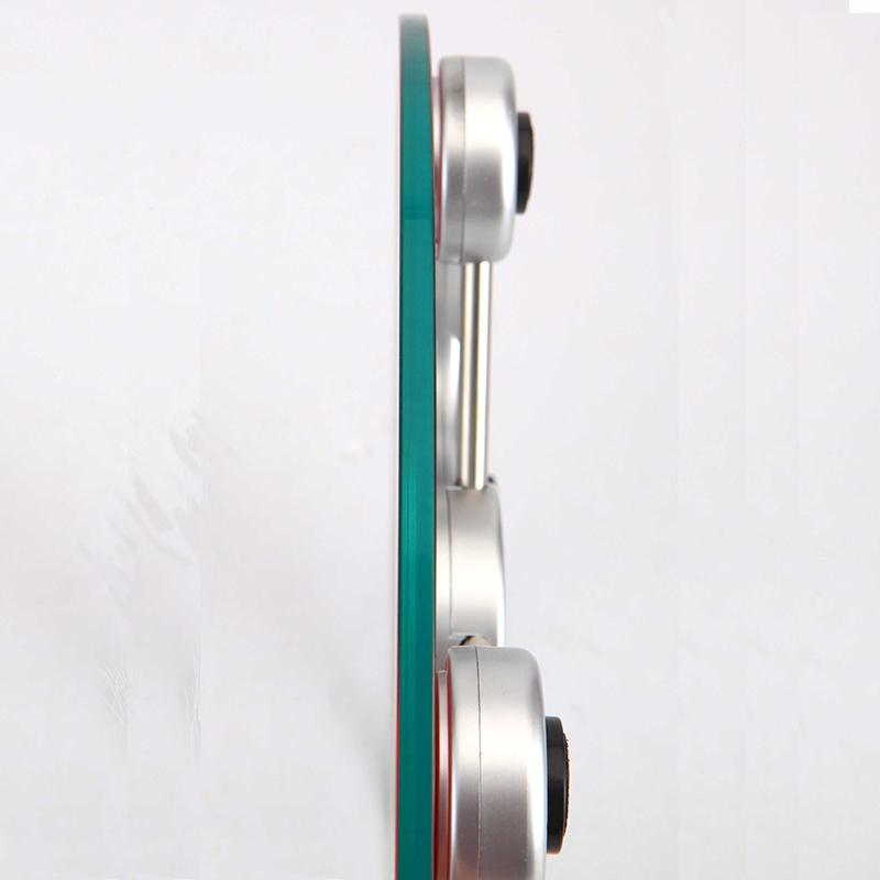 Slim Glass Calibrate Digital Electronic Bathroom Scale ...