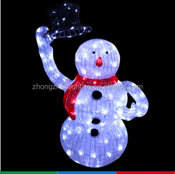 Lighted animated snowman with top hat outdoor christmas yard art lighted animated snowman with top hat outdoor christmas yard art decoration mozeypictures Choice Image
