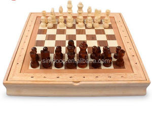 The high-quality all-solid wooden chess table of chess high table image chess manufacturer direct sales