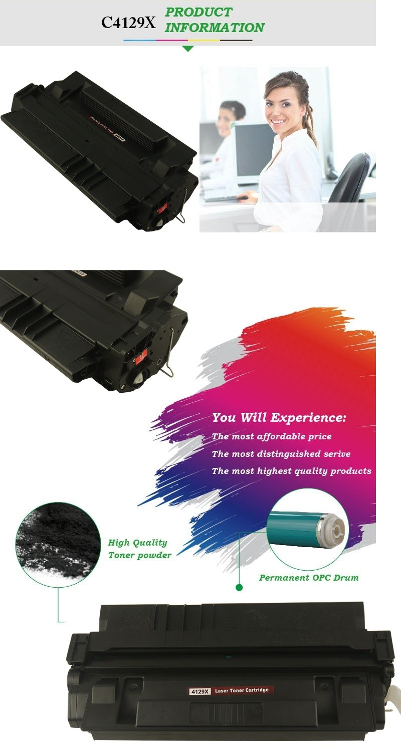 GS totally new cartridge toner 4129x for 5000 5100