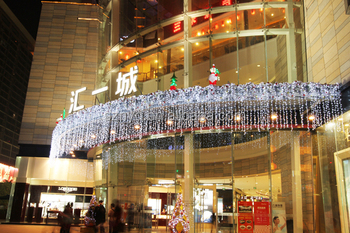 entrance shopping mall decoration christmas decoration - Mall Christmas Decorations