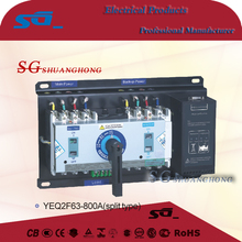 yeq2f63 socomec change over switch (ATS) automatic power changeover switch 1600A