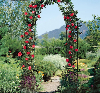 Metal Garden Arch Decoration For Party Prom Beach Garden