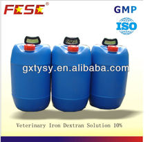 Factory price iron dextran solution injected grade for alive goat for sale