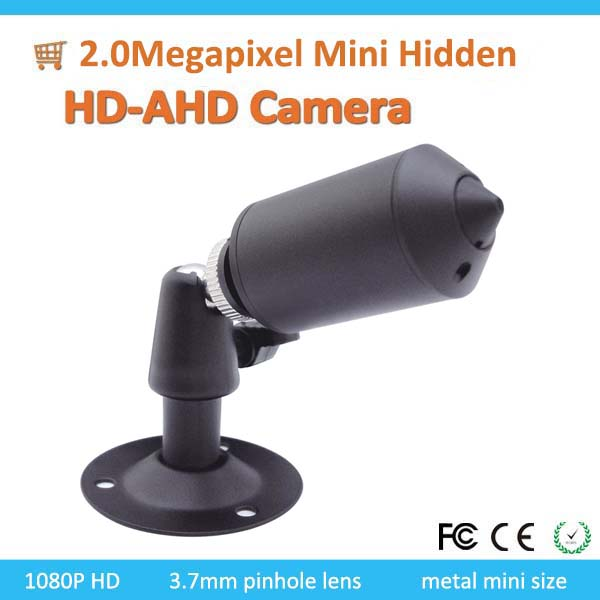 Kadymay Wholesale Cameras Good quality Starlight Waterproof 2.0MP Mini Pinehole lens Live AHD Camera with the base