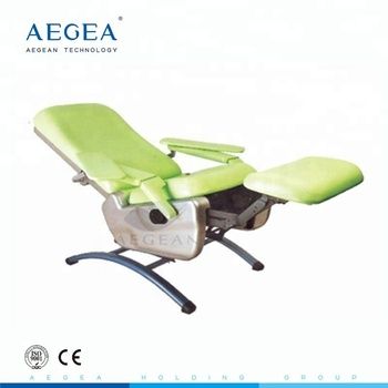 AG-XS104 new design manual reclining phlebotomy medical chair for blood donation