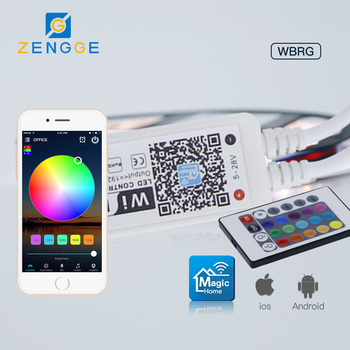Hot Oil Products,Free APP WiFi Led Rgb+rgbw Controller Rf Remote Control For