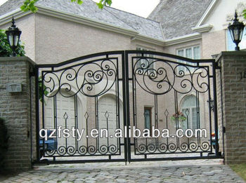 Small garden house iron gate design buy house iron gate for Small house gate design