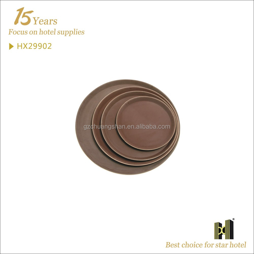Fiber Korean Round Shape Good Quality round tray