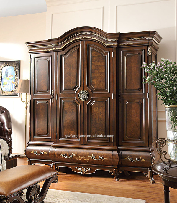 Buy Home Furniture: Luxury Classic Solid Wooden Hand Carved Furniture For Home