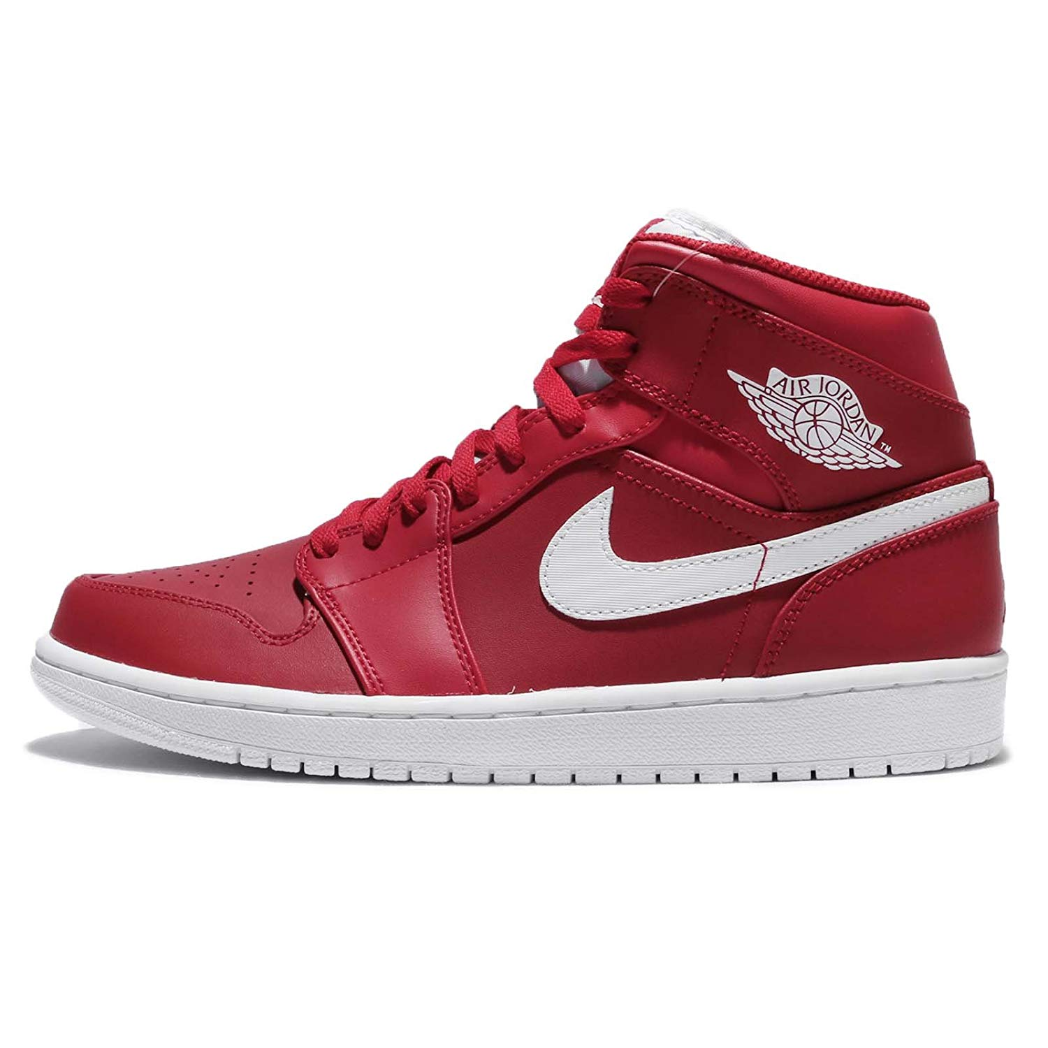 4120f16a27df Get Quotations · Jordan Nike Men s Air 1 Mid Basketball Shoe