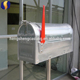 galvanized steel mailbox US