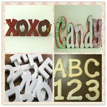 Decorative Wooden Letters Wooden Number Children Diy Drawer Colourful Wooden Gift Wooden Block Letter Diy Wooden Craft Letter Buy Decorative Wooden