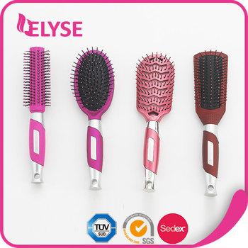 how to clean a plastic bristle hair brush