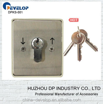 220v Roller Up Door Key Lock Buy Key Operated Electric