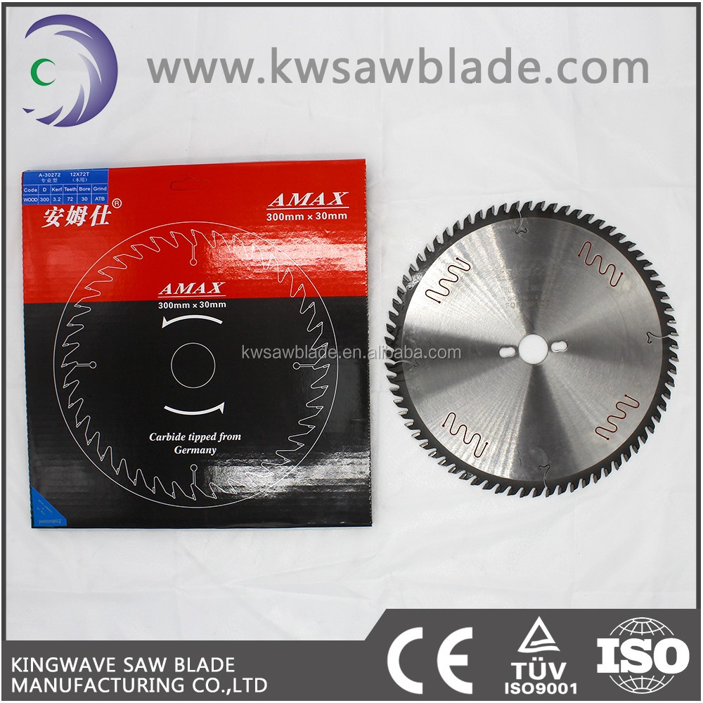 CERATIZIT Tungsten Carbide Tipped Circular Saw Blades For Cutting Wood/Aluminum