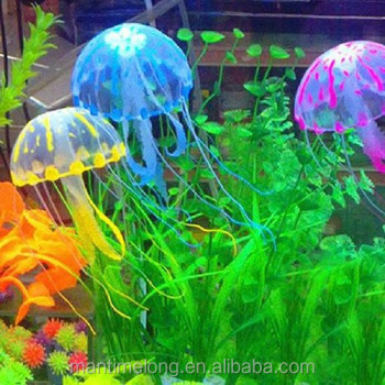 aquarium jellyfish jellyfish decorations fish tank christmas decorations - Christmas Aquarium Decorations