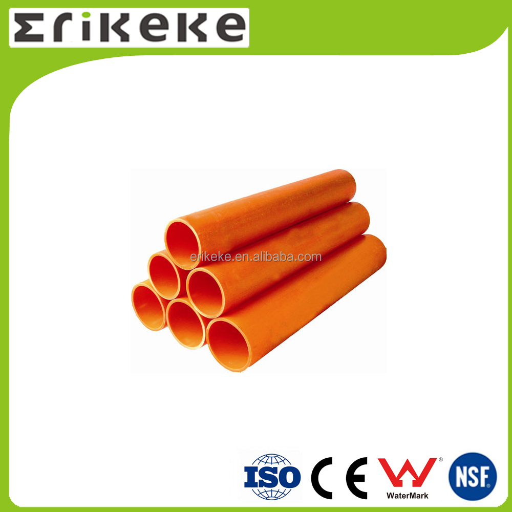 Good quality c pvc 50mm electrical conduit pipe
