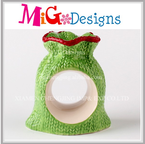New Style 2015 Ceramic Kniteed Ring Holder Xmas Gift Ideas For Her