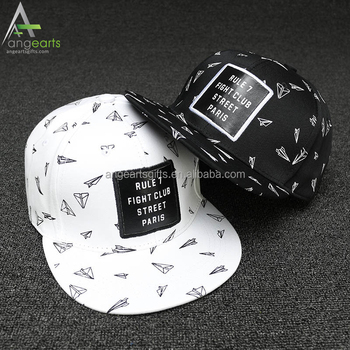 3629ddb1c7b5c New Style Wholesale Cheap Snapback Cap Custom Leather Patch Hip Hop Snap  Back Hat
