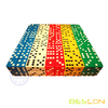 Beautiful Bulk High Quality 16MM Opaque Plastic Colored Dice in Striaight Style 5/8""